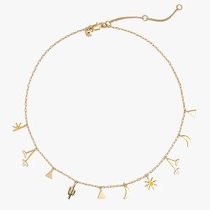 Madewell desert charms necklace